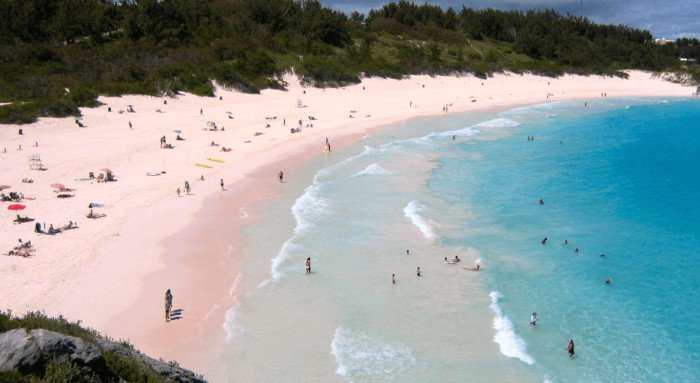 Horseshoe Bay Beach Bermuda Caribbean cruise deals with a military and Veteran discount
