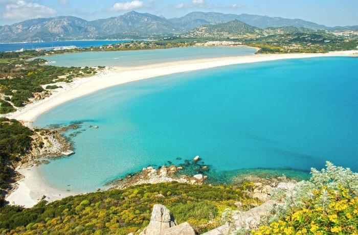 Port Ogiunco Beach Cagliari Sardinia