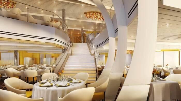 Dining Room On Koningsdam Holland America Cruise Line