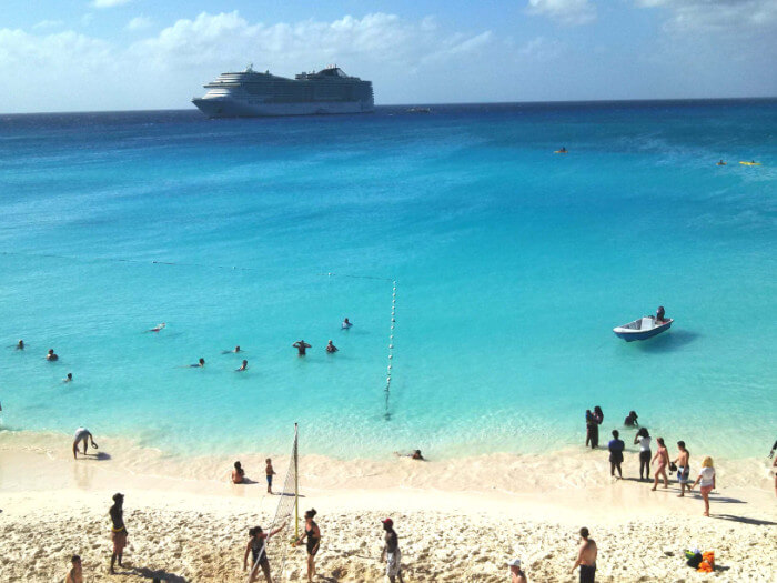 Msc Divina At Half Moon Cay Caribbean cruise deals with a military and Veteran discount