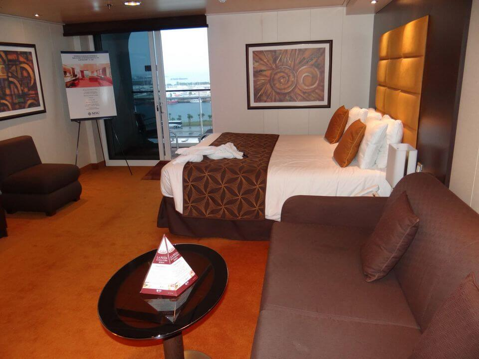 MSC Divina Wheelchair Accessible Cabin Military Cruise Deals