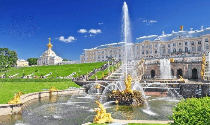 Baltic Russia Cruise Military and Veteran Discount Peterhof Gardens St Petersburg