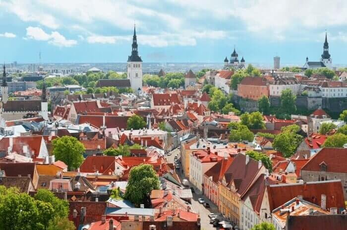 Military and Veteran Discounts on Baltic/Russia Cruises Tallinn Estonia Old Town
