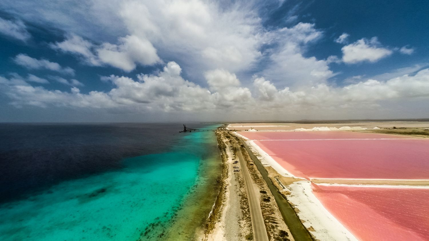 Salt Flats Of Bonaire