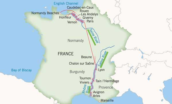 Rivers Of France