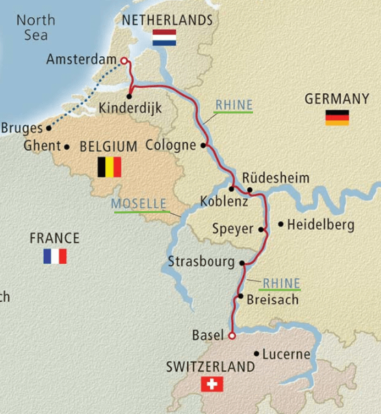 Military Discounts on all River Cruises germany