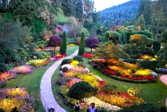 Historic Downtown And Butchart Gardens Victoria Bc Canada 1