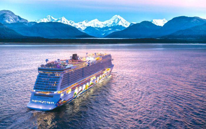 Norwegian Encore At Sea